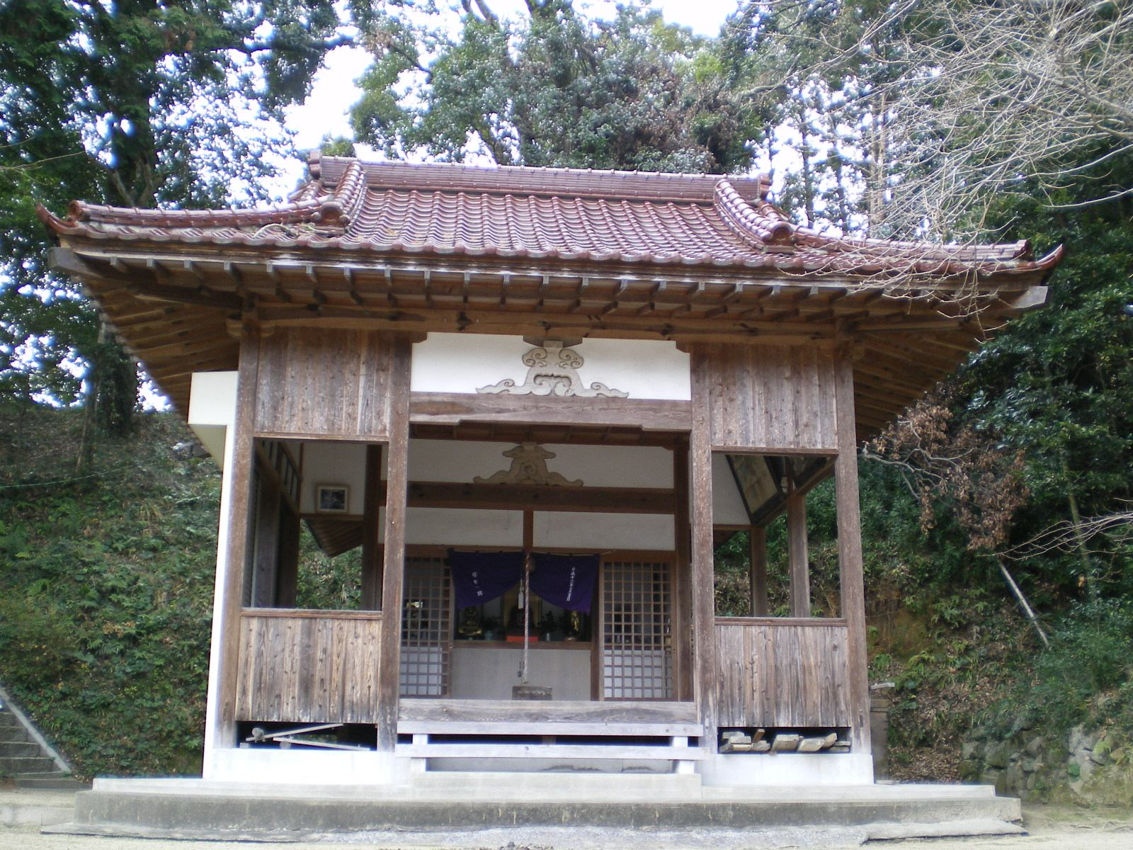 乙子神社の『君命社』@紀行道中...